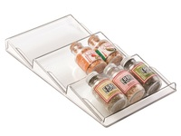 Interdesign: Linus 3-Tiered Spice Rack - (Clear)