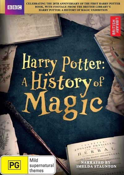 Harry Potter: A History of Magic on DVD