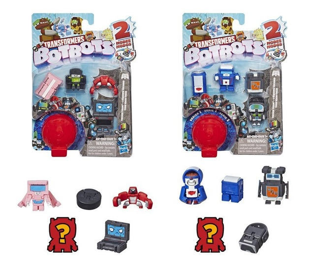 Transformers: BotBots 5-Pack - Techie Team (Assorted Designs)