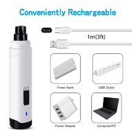 Professional Electric Rechargeable Pet Nail Grinder