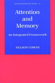 Attention and Memory by Nelson Cowan image