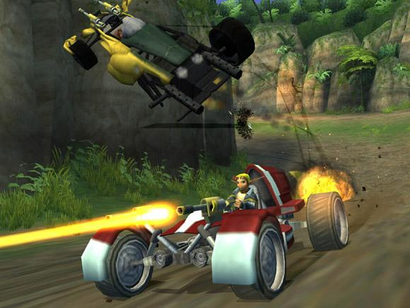 Jak X: Combat Racing for PlayStation 2 image