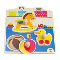 Hape: My Toys Knob Puzzle
