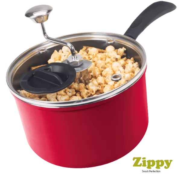 Zippy Snack & Popcorn Maker (Red)