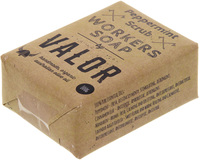 Valor Organic Peppermint Scrub Workers Soap (100g)