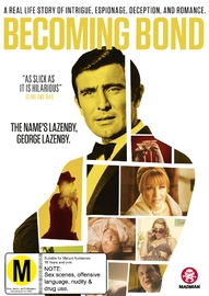 Becoming Bond on DVD image