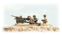 Flames of War: Fighting First - 37mm Anti-tank Gun Platoon (x2)
