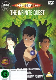 Doctor Who: The Infinite Quest on DVD
