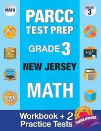 Parcc Test Prep Grade 3 New Jersey Math by Parcc Nj Test Prep Team image