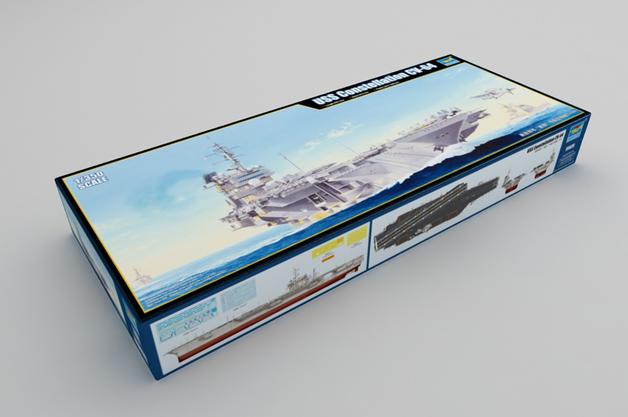 Trumpeter 1/350 USS Constellation CV-64 - Scale Model