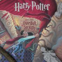 Harry Potter: Chamber of Secrets - Book Cover Artwork