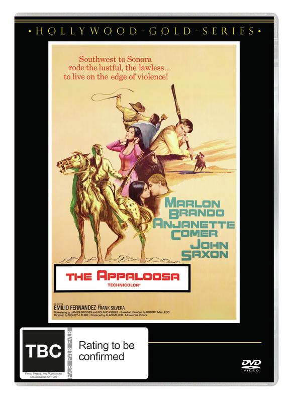 The Appaloosa on DVD