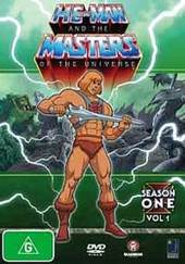 He-man And The Masters Of The Universe Season 1  - (6 Disc Set) on DVD