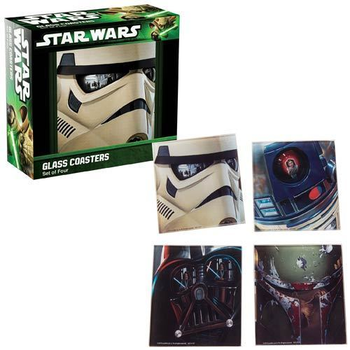 Star Wars - Glass Coasters Set of 4