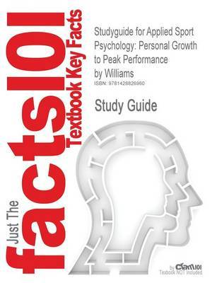 Studyguide for Applied Sport Psychology by Cram101 Textbook Reviews image