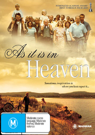 As It Is In Heaven on DVD