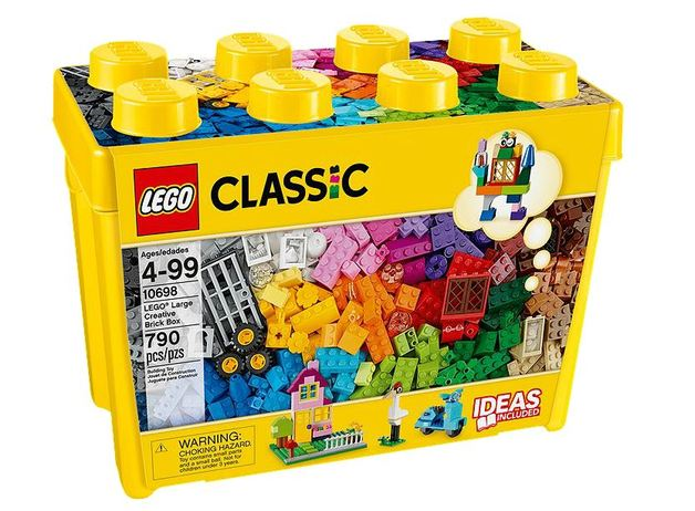LEGO Classic - Large Creative Brick Box (10698) | Toy | at Mighty Ape NZ