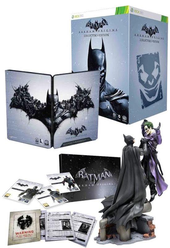 Batman: Arkham Origins Collector's Edition for X360