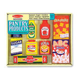 Melissa & Doug: Dry Goods Wooden Food Set