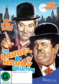 The Laurel And Hardy Collection on DVD
