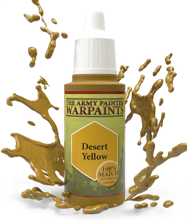 Army Painter: Warpaints - Desert Yellow