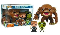 Star Wars - Rancor, Luke, and Oola Pop! Vinyl Set