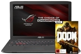 "ASUS ROG GL752VW-T4227T 17.3"" Gaming Laptop i7 6700HQ 8GB GTX 960M 4GB"