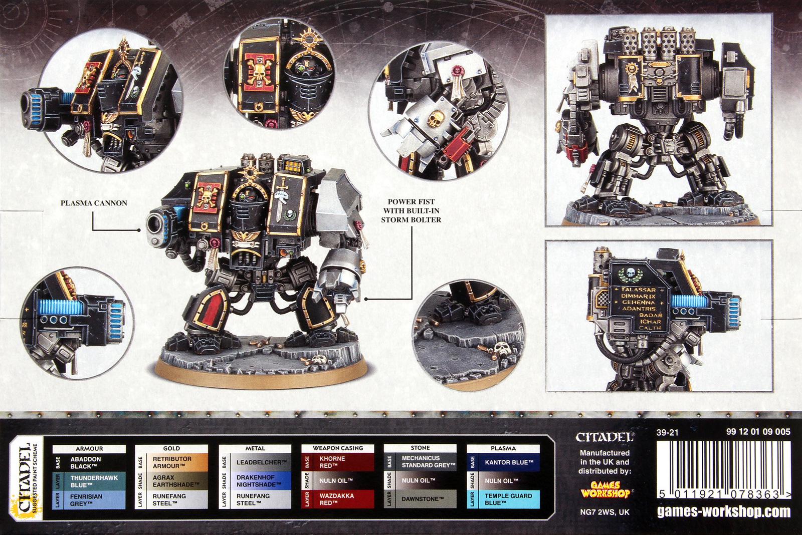 Warhammer 40 000 Deathwatch Venerable Dreadnought At