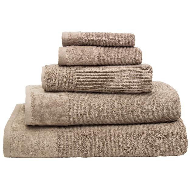 Bambury Costa Cotton Face Washer (Mocha)