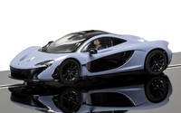 Scalextric: DPR: McLaren P1 (Grey) - Slot Car
