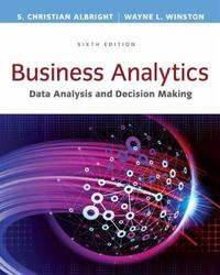 Business Analytics by S. Albright