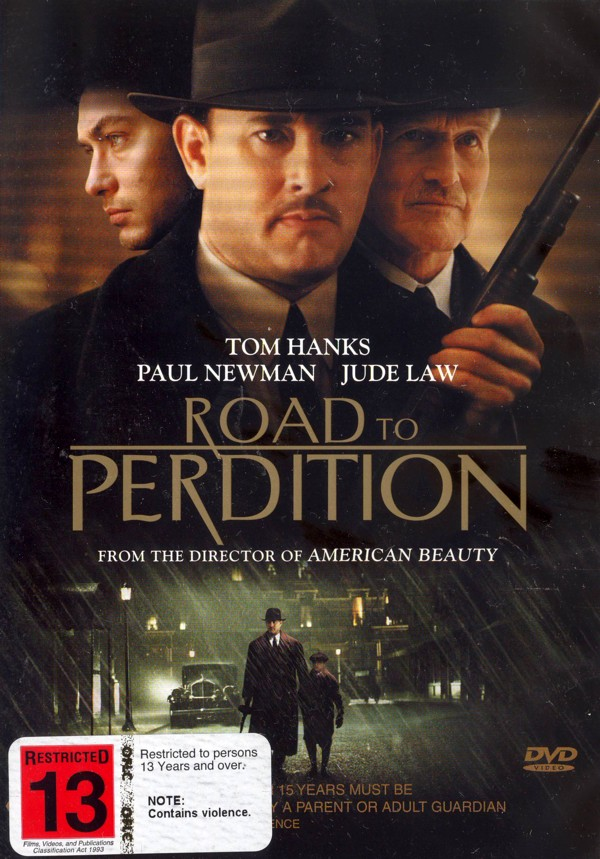 Road to Perdition on DVD image