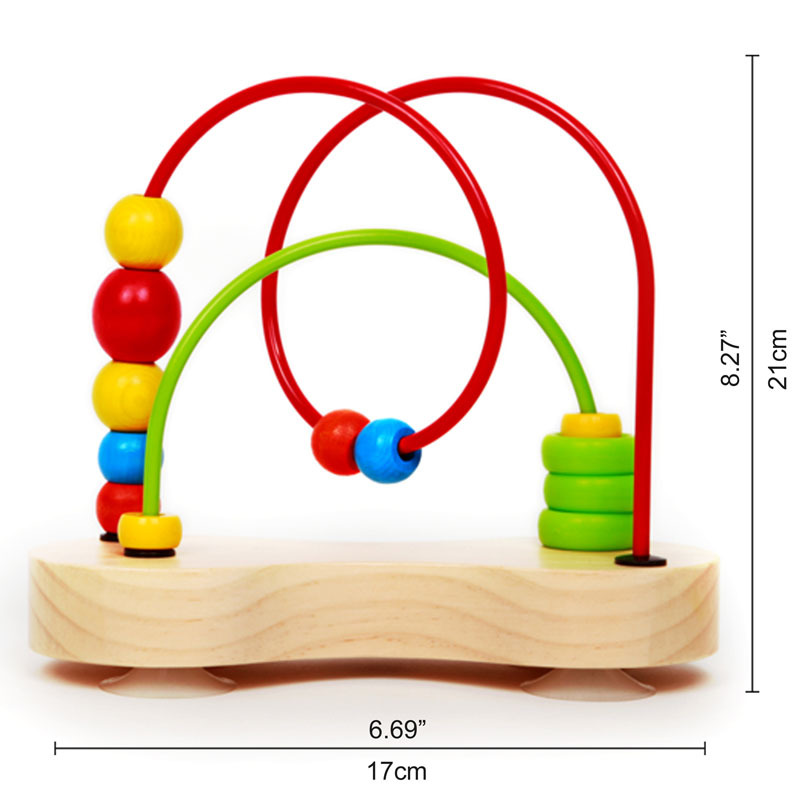 Hape: Double Bubble - Wooden Bead Maze image