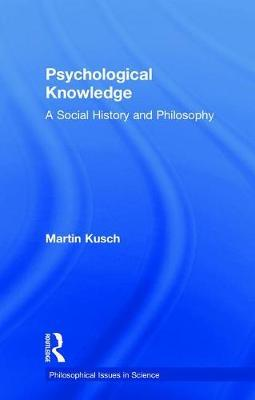 Psychological Knowledge by Martin Kusch image