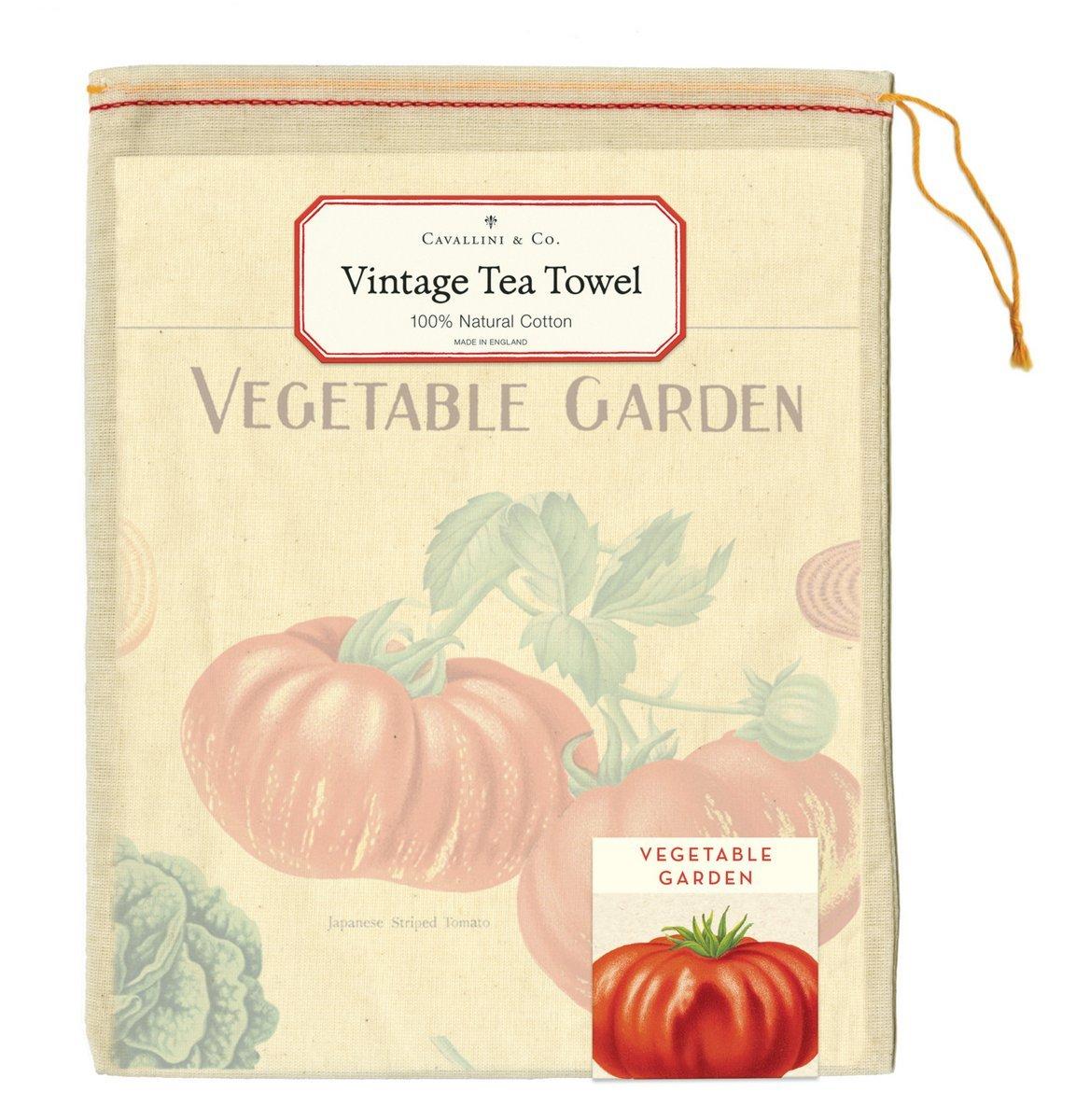 Vegetable Garden Tea Towel image