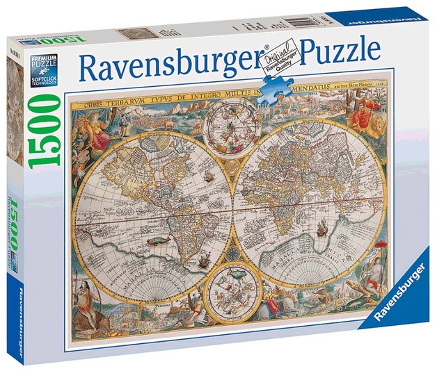Ravensburger 1500pc Puzzle - Historical Map