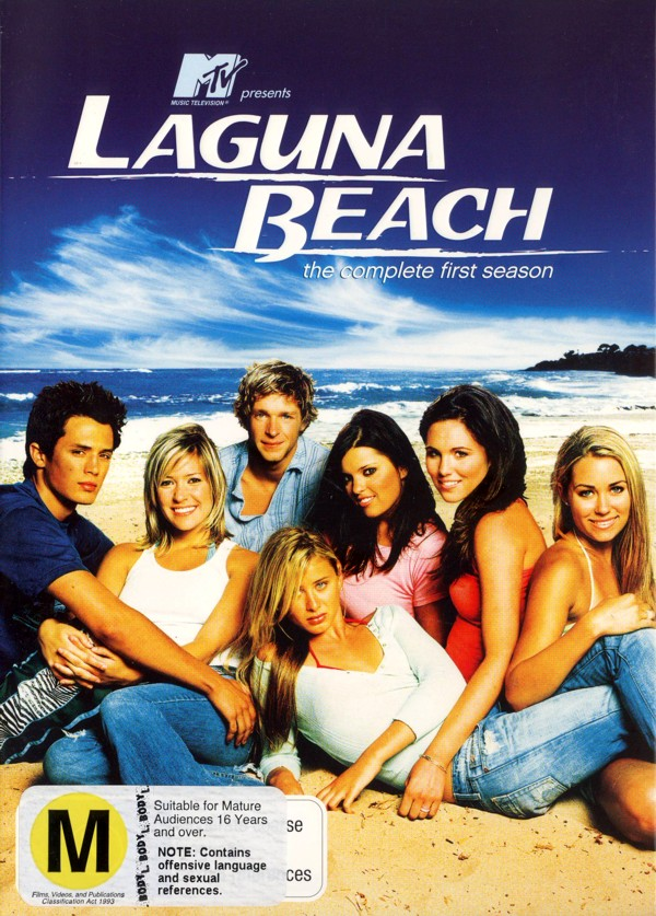 Laguna Beach - Complete Season 1 (3 Disc Set) on DVD image