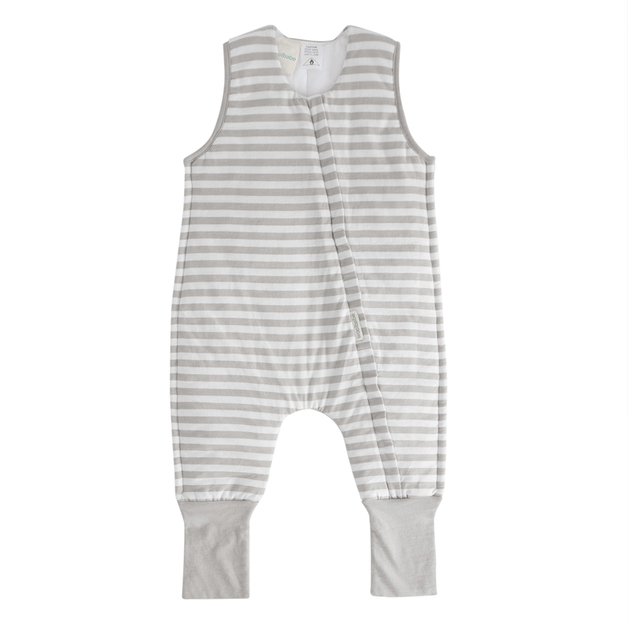 Woolbabe: 3-Seasons Sleeping Suit Pebble - 4 Years