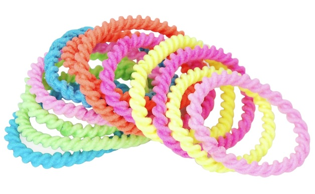 Pink Poppy: Neon - Mini Hair Elastics (Assorted Designs)