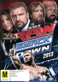 WWE Best of Raw and Smackdown 2013 (3 Disc Set) DVD