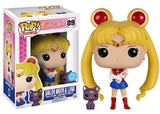 Sailor Moon - Sailor Moon w/ Luna (Glitter) Pop! Vinyl Figure