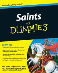 Saints For Dummies by John Trigilio image