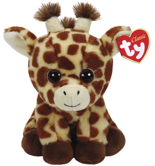 Ty Beanie Babies: Peaches Giraffe - Medium Plush
