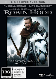 Robin Hood - Special Edition (2 Disc) on DVD