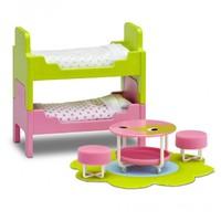 Lundby: Smaland (2015) - Childrens Bedroom Furniture Set