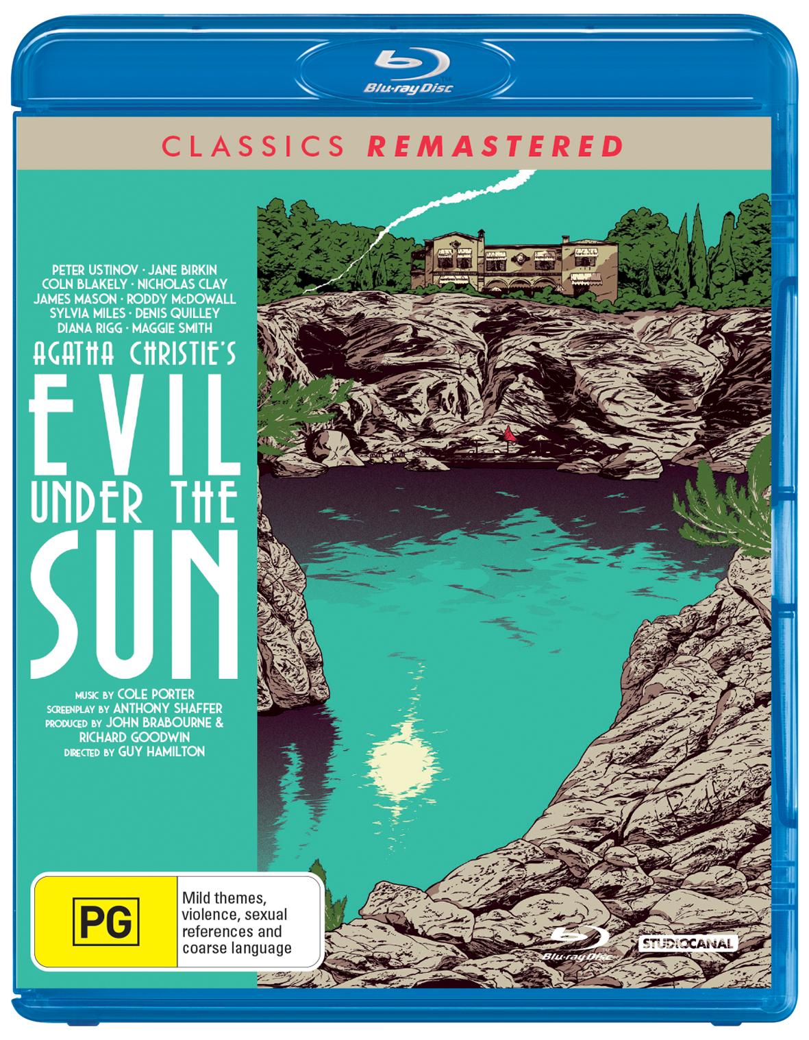 Evil Under the Sun on Blu-ray image