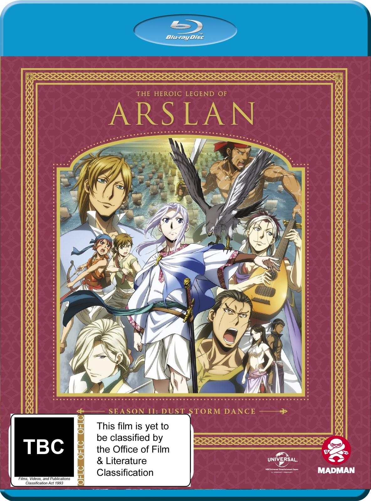 The Heroic Legend Of Arslan - Season 2 on Blu-ray image