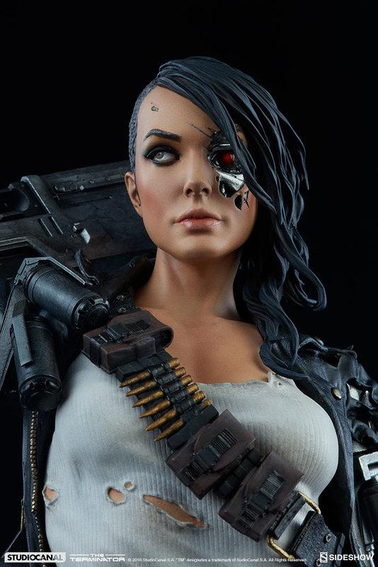 """Terminator: Rebel Terminator - 19.5"""" Premium Format Figure"""