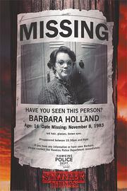 Stranger Things Maxi Poster - Missing Barb (916)