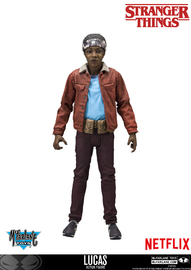 "Stranger Things: Lucas - 7"" Action Figure"